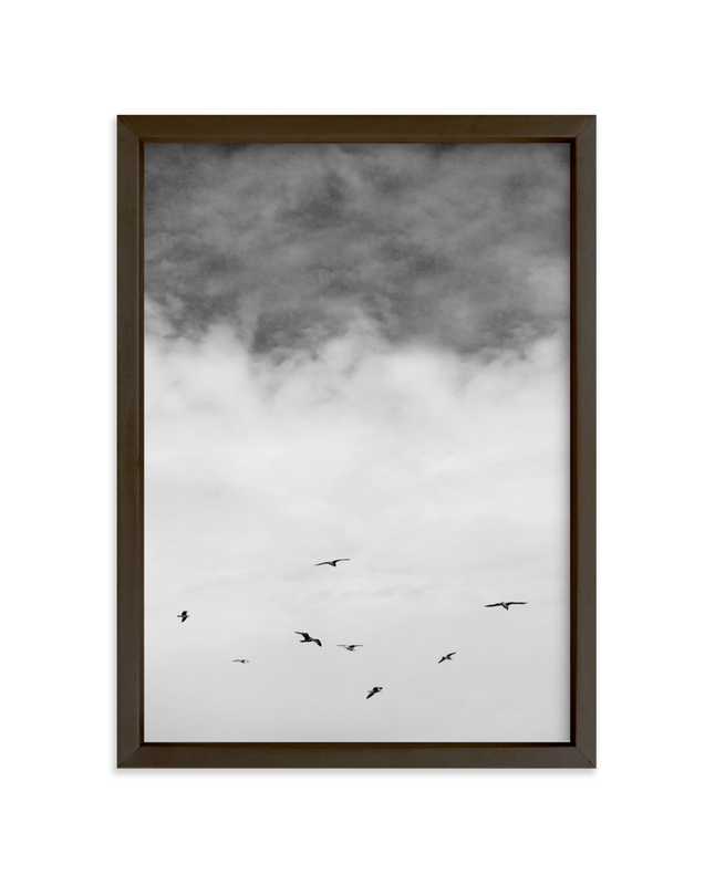 """Soaring Trio 2"" - Art Print by Janelle Wourms in beautiful frame options and a variety of sizes."