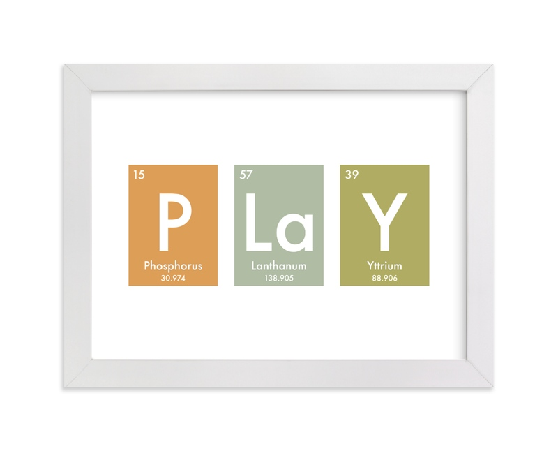 """""""Elemental Play"""" - Art Print by Jennifer Morehead in beautiful frame options and a variety of sizes."""