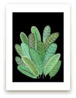 Banana Leaf Bouquet II by Madeline Trait