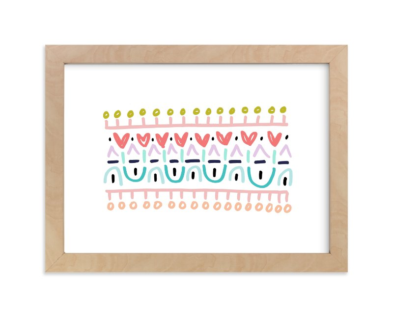 """""""Pop of Love"""" - Art Print by Katie Craig in beautiful frame options and a variety of sizes."""