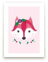 Flower Fox Art