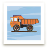 Construction Dump truck Art