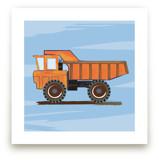 Construction Dump truck Art