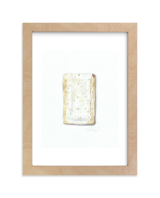 """""""Popt(art) - Strawberry"""" - Art Print by Jackie Graham in beautiful frame options and a variety of sizes."""