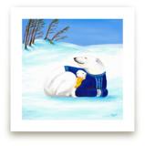 Polar Bears by Aga