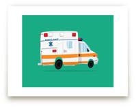 Cute Ambulance by Nathan Poland