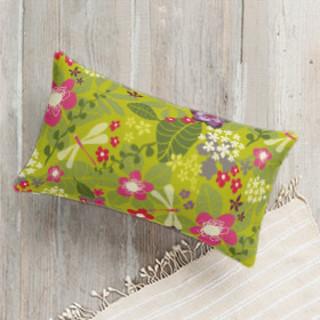 Tropical Fusion Self-Launch Lumbar Pillows