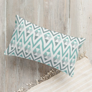 Tribal Triangle Self-Launch Lumbar Pillows