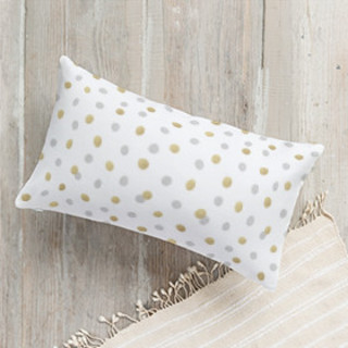 Modern Photo Frame Self-Launch Lumbar Pillows