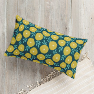 Dottie Flowers Self-Launch Lumbar Pillows