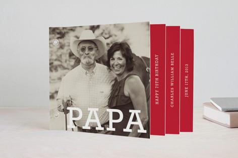 Milestone Celebration Memorial Minibook Cards