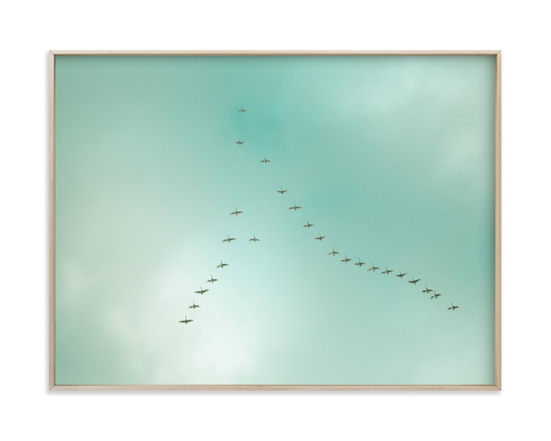"""Key of birds"" by Lying on the grass in beautiful frame options and a variety of sizes."