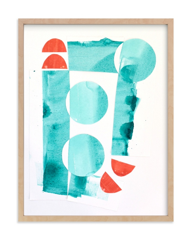 """""""Surf & Sun"""" by Katie Analise in beautiful frame options and a variety of sizes."""