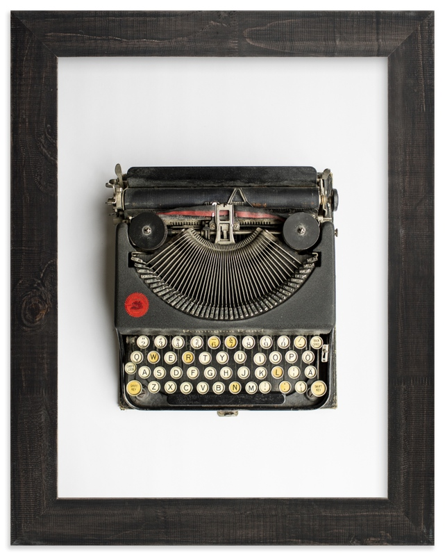 """""""Remington Rand"""" by Joelle Segal in beautiful frame options and a variety of sizes."""