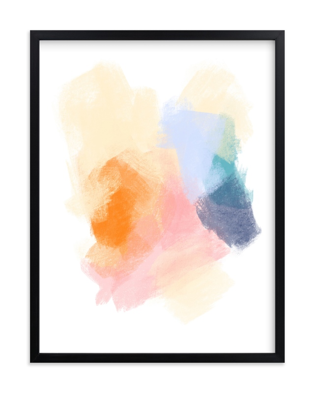 """""""Summer Crush"""" by Jenny Partrite in beautiful frame options and a variety of sizes."""