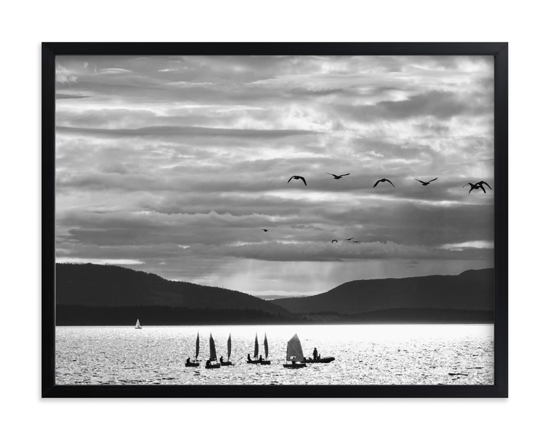 """""""Sailing and Flight"""" by Jan Kessel in beautiful frame options and a variety of sizes."""