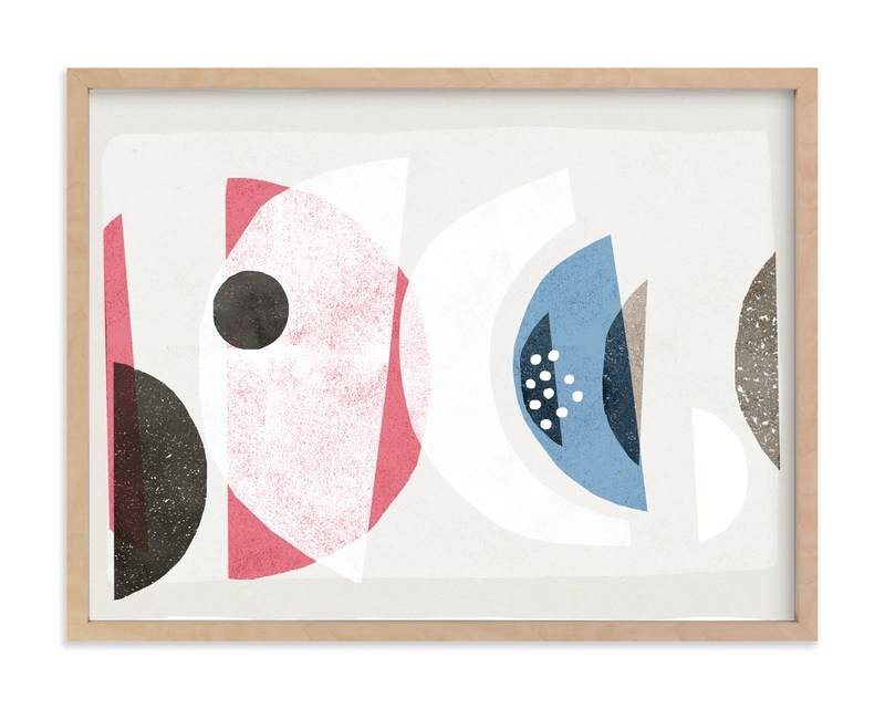 """""""Abstract No.16"""" by Francesca Iannaccone in beautiful frame options and a variety of sizes."""
