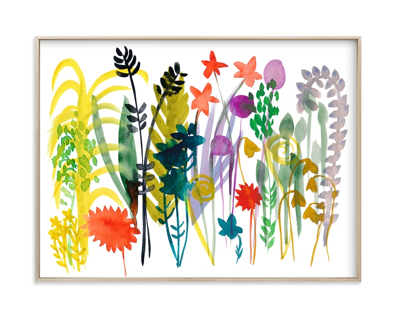 """""""Spring Wild Flowers"""" by Kim Johnson in beautiful frame options and a variety of sizes."""