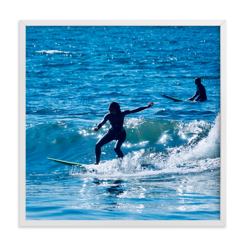 """""""Surfing 3"""" by Jan Kessel in beautiful frame options and a variety of sizes."""