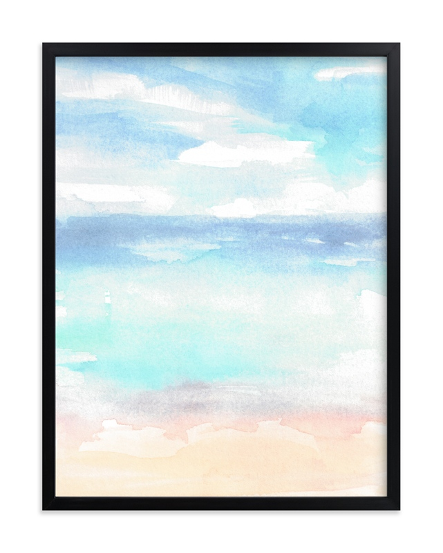 """""""Summer Dreams"""" by Jenny Partrite in beautiful frame options and a variety of sizes."""