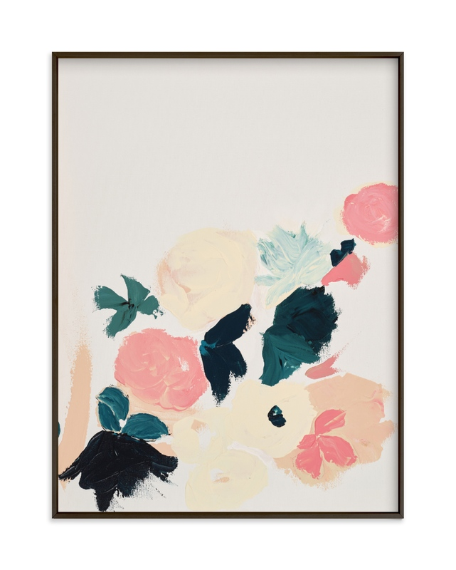 """""""Abstract Botanical Floral 3"""" by Caryn Owen in beautiful frame options and a variety of sizes."""