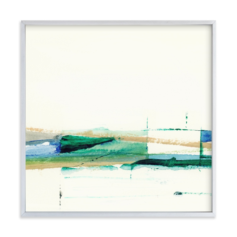 """""""Deconstructed Beach"""" by Mande Calhoun in beautiful frame options and a variety of sizes."""