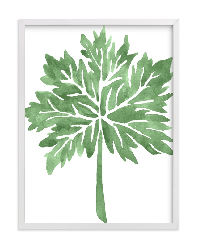 """Greenery I"" by Luz Alliati in beautiful frame options and a variety of sizes."
