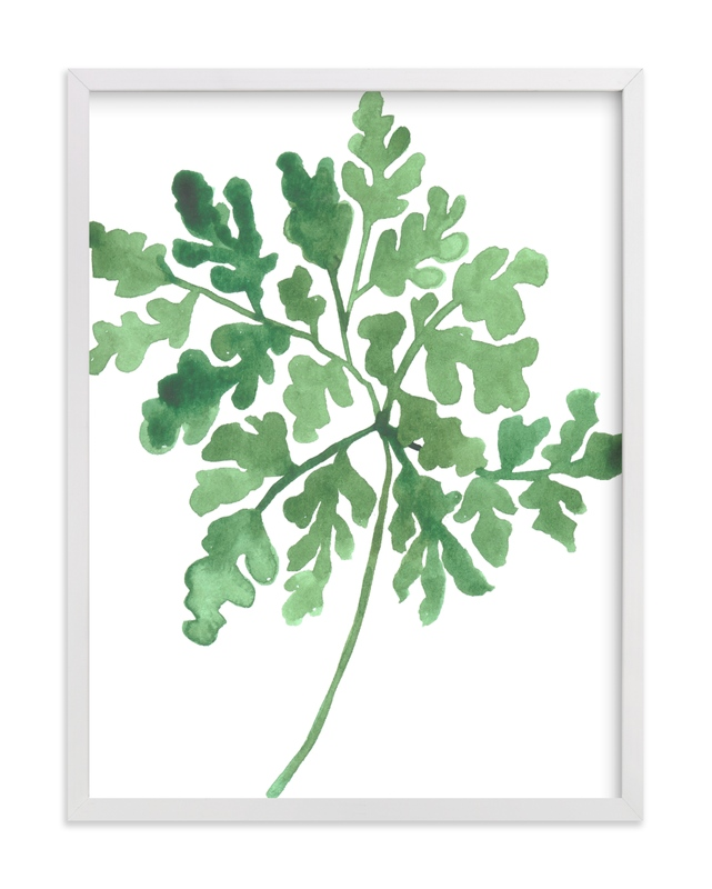 """""""Greenery II"""" by Luz Alliati in beautiful frame options and a variety of sizes."""