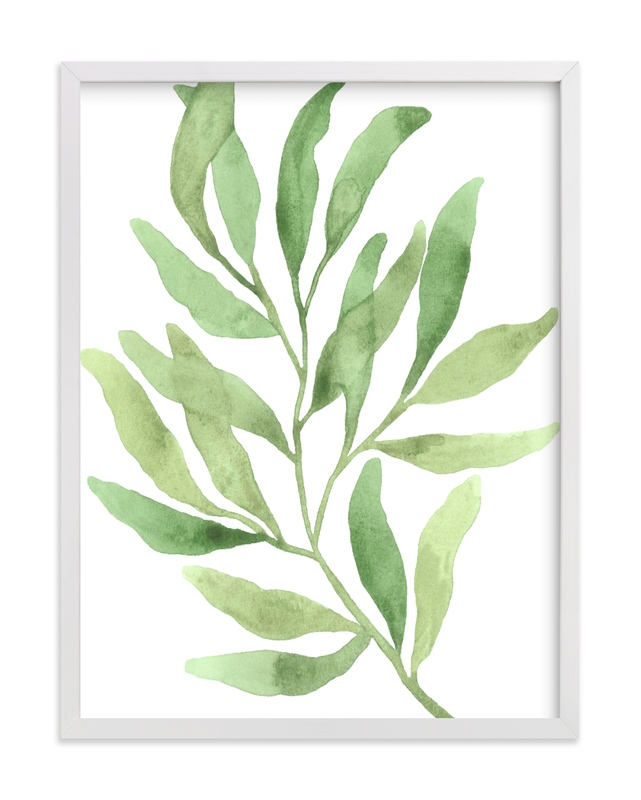"""""""Greenery III"""" by Luz Alliati in beautiful frame options and a variety of sizes."""