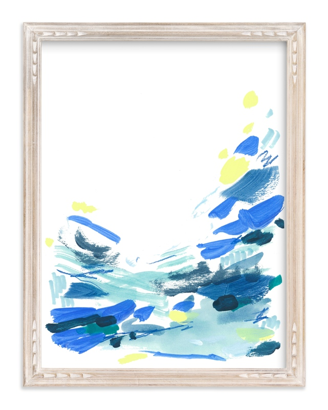"""""""Ocean Water"""" by Katie Craig in beautiful frame options and a variety of sizes."""