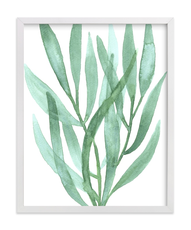 """""""Sea Botanicals III"""" by Luz Alliati in beautiful frame options and a variety of sizes."""