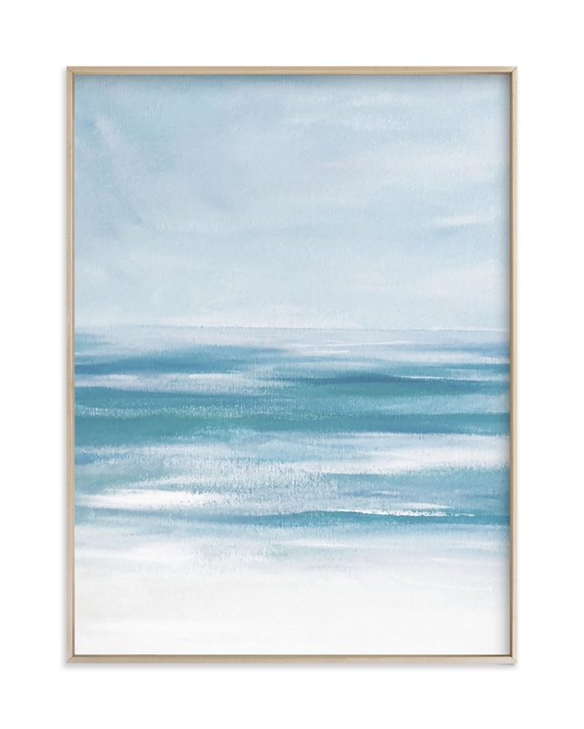 """""""Coastal Still"""" by Jenny Partrite in beautiful frame options and a variety of sizes."""