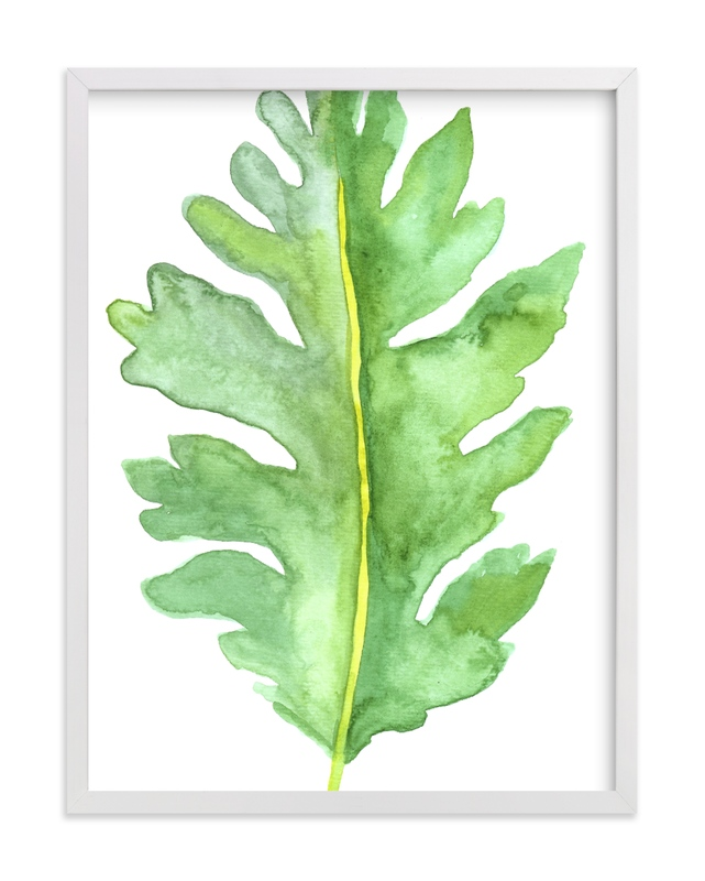 """""""Greenery IV"""" by Luz Alliati in beautiful frame options and a variety of sizes."""