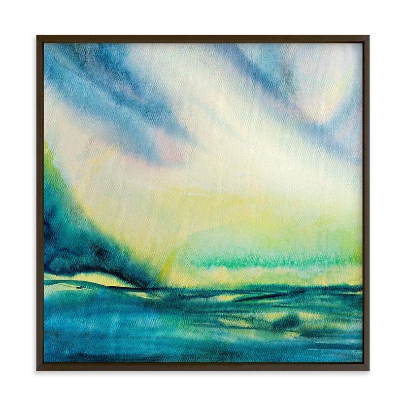 """""""Petrichor"""" by Stacy Kron in beautiful frame options and a variety of sizes."""