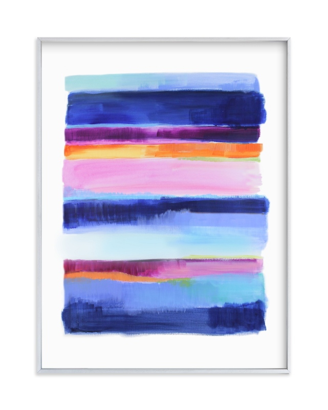 """""""Indigo Sun"""" by Alison Jerry Designs in beautiful frame options and a variety of sizes."""