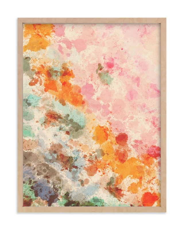 """""""Splashes of Sunset"""" by Angel Walker in beautiful frame options and a variety of sizes."""