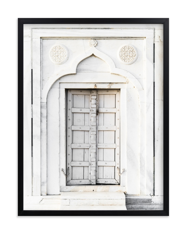 """""""Palace Door"""" by Kamala Nahas in beautiful frame options and a variety of sizes."""