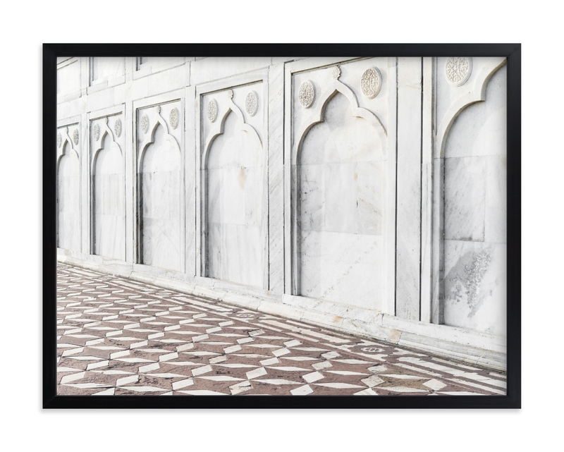 """""""Palace Walk 3"""" by Kamala Nahas in beautiful frame options and a variety of sizes."""