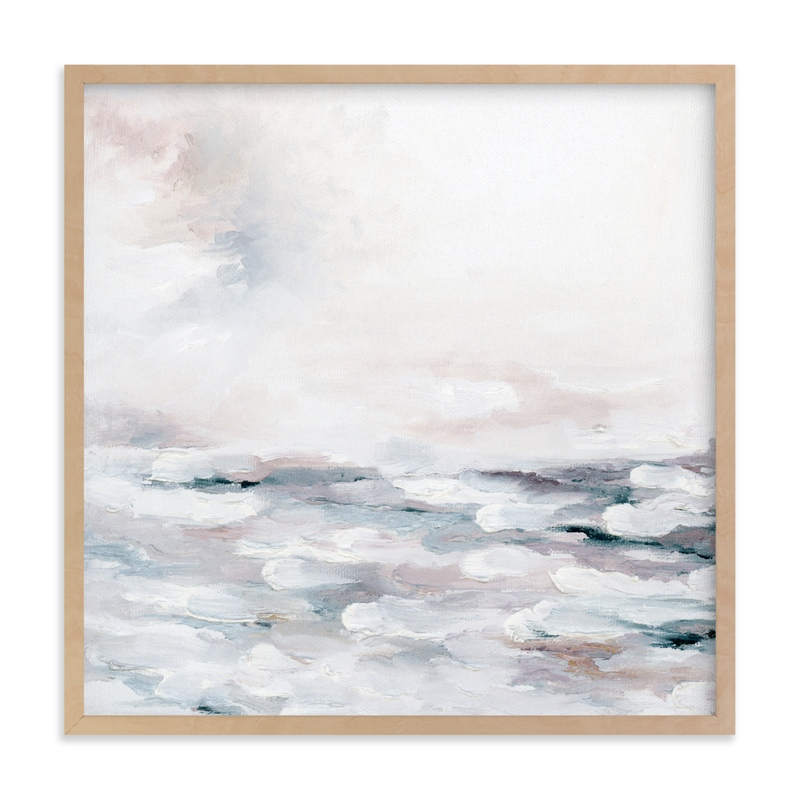 """Blush Quartz Fury"" by Nicoletta Savod in beautiful frame options and a variety of sizes."