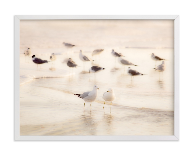 """""""Misty Shore"""" by Debra Pruskowski in beautiful frame options and a variety of sizes."""