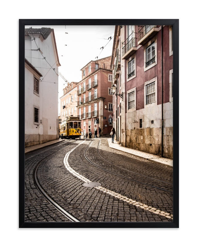 """Alfama#1"" by Van Tsao in beautiful frame options and a variety of sizes."