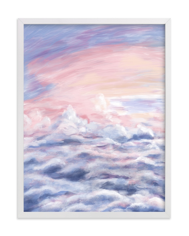 """Dreamy Clouds"" by Janelle Wourms in beautiful frame options and a variety of sizes."