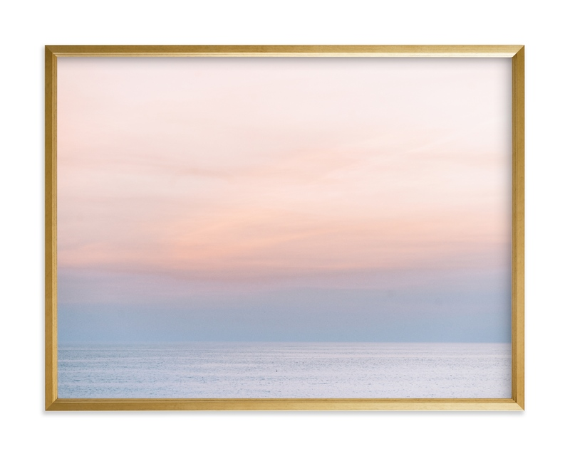 """Sea Blush 2"" by Kamala Nahas in beautiful frame options and a variety of sizes."
