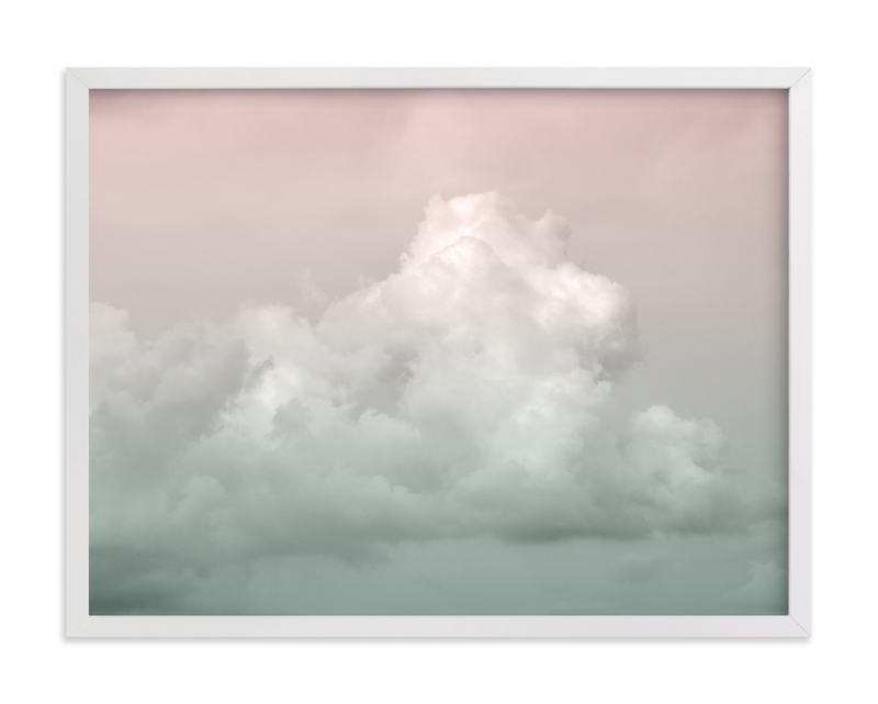 """Floating clouds"" by LemonBirch Design in beautiful frame options and a variety of sizes."