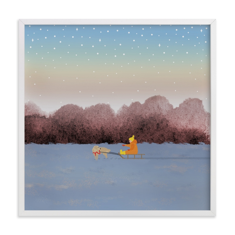 """""""Jingle Way"""" by Shannon in beautiful frame options and a variety of sizes."""