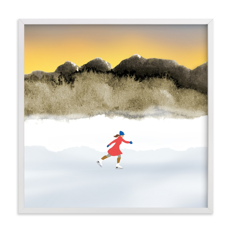 """""""Calmly Bright"""" by Shannon in beautiful frame options and a variety of sizes."""