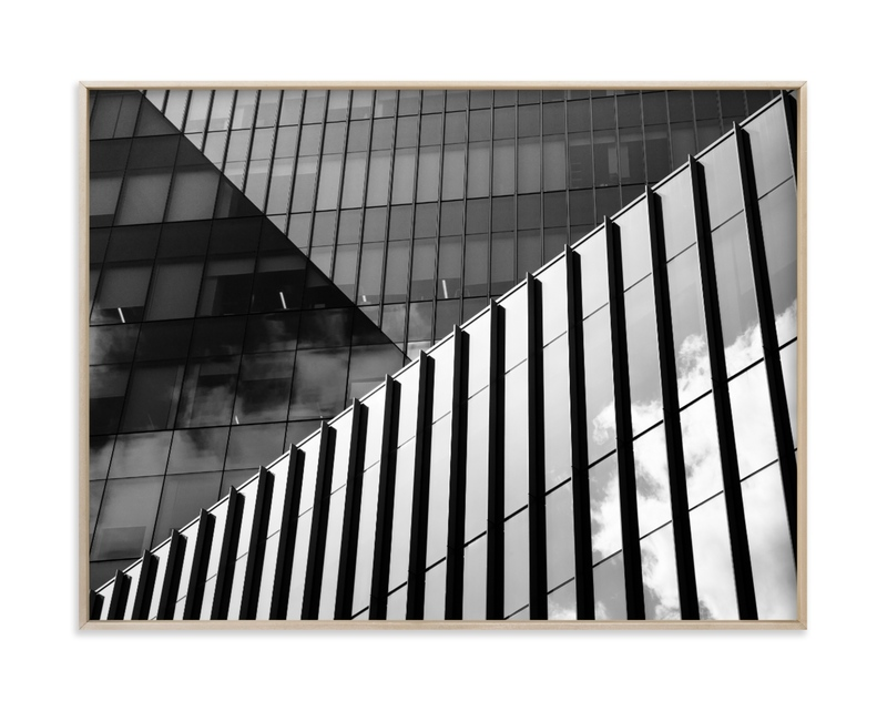 """""""Subdivision #1"""" by Van Tsao in beautiful frame options and a variety of sizes."""