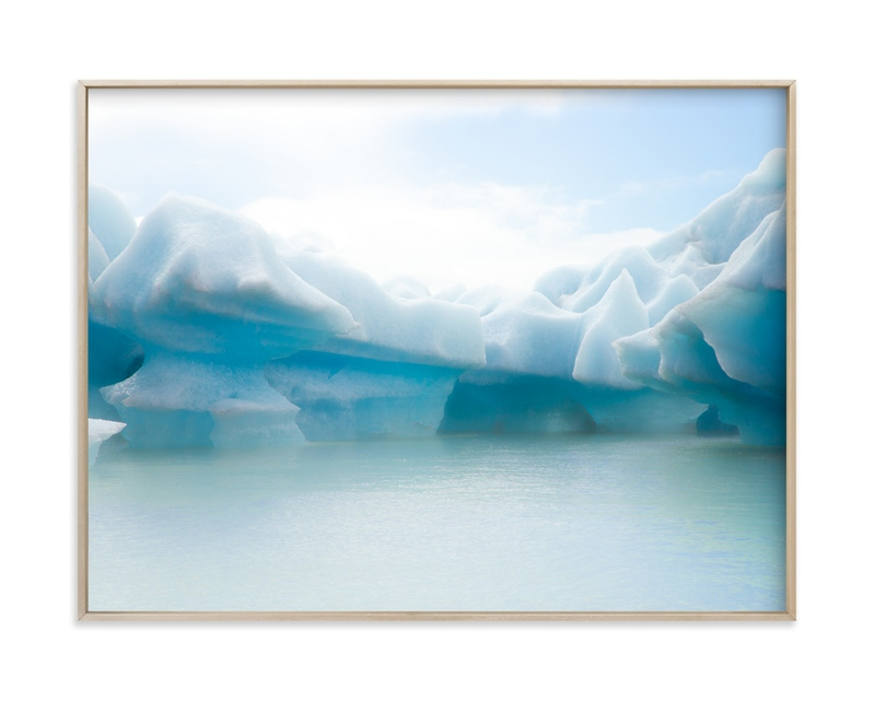 """""""Crystalline Shapes #1"""" by van tsao in beautiful frame options and a variety of sizes."""