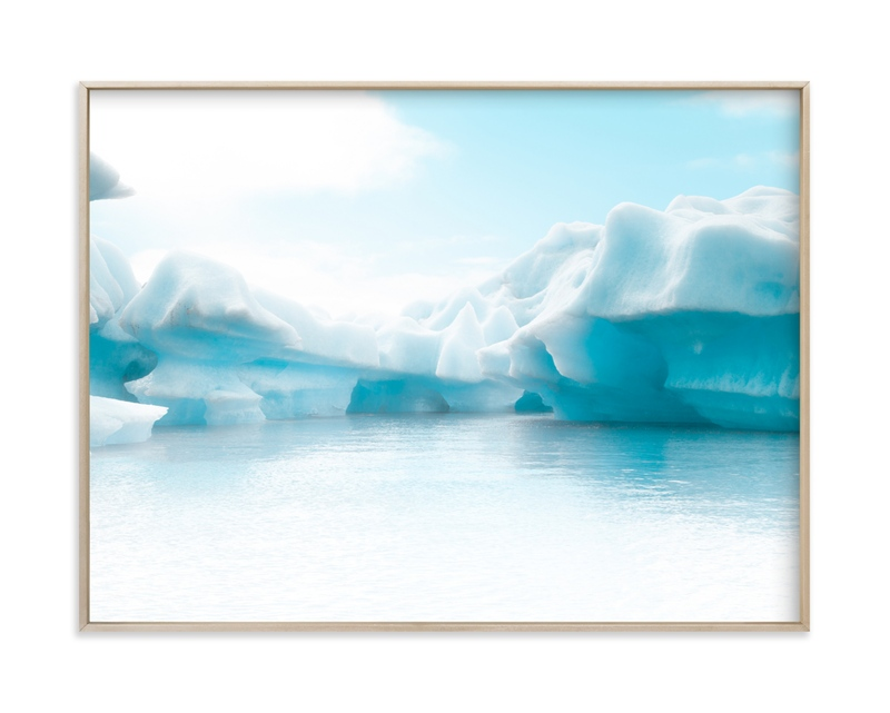 """Crystalline Shapes#2"" by Van Tsao in beautiful frame options and a variety of sizes."
