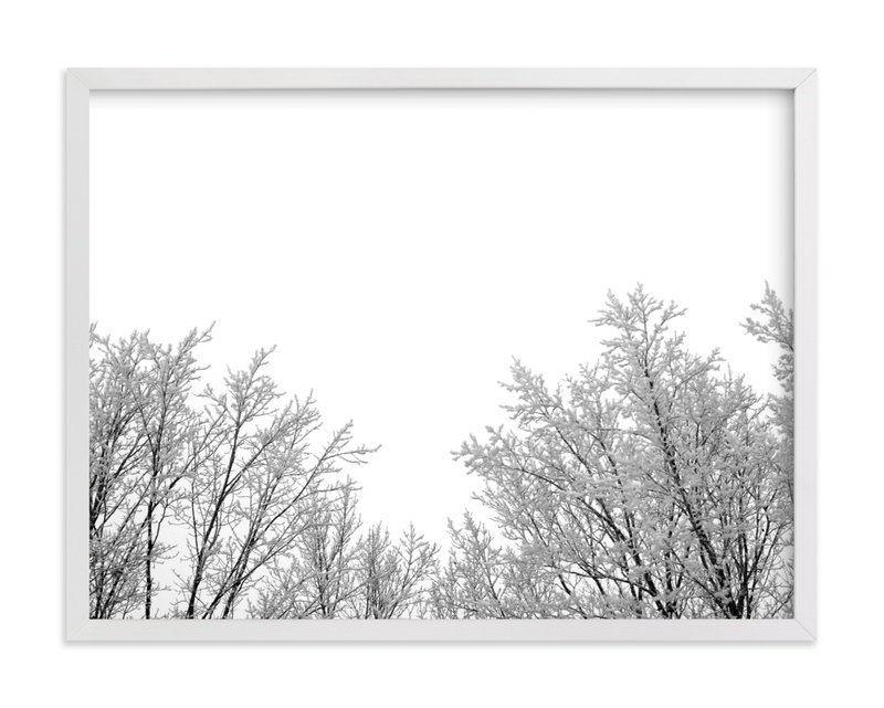 """""""Frosted Afternoon"""" by Janelle Wourms in beautiful frame options and a variety of sizes."""